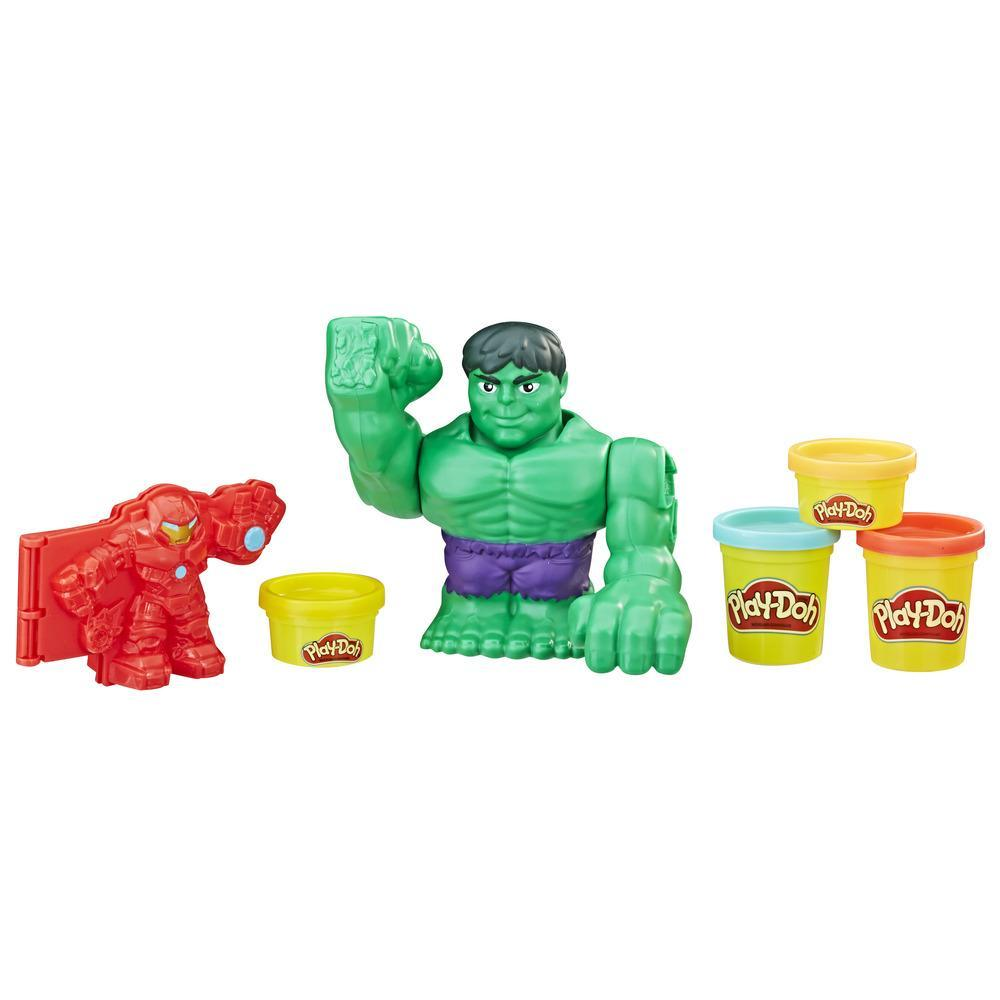 Play-Doh Marvel Hulkbuster Battle