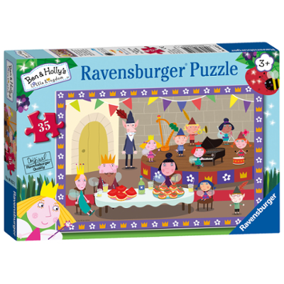 Ravensburger Ben & Holly 35pc Jigsaw Puzzle