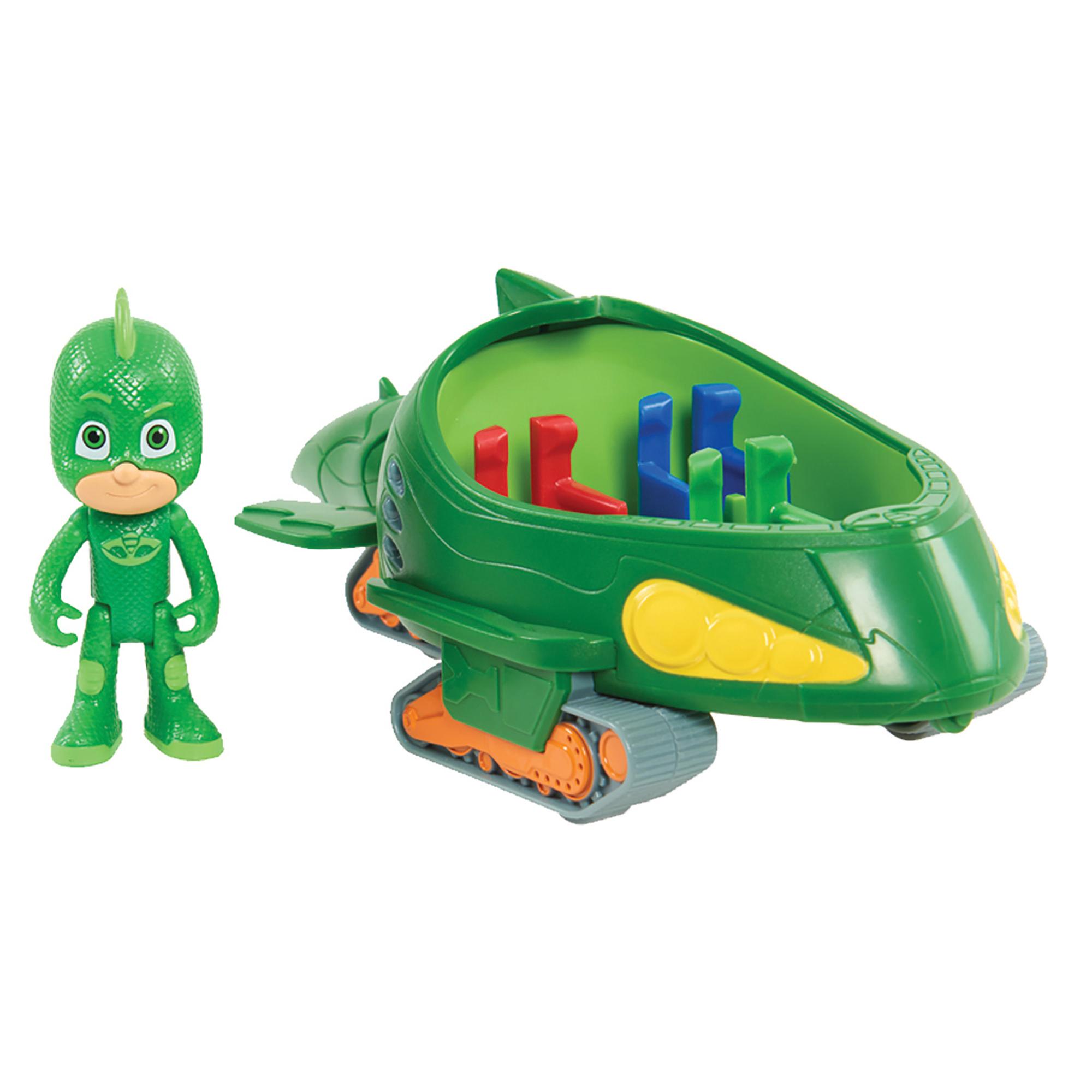 PJ Masks Vehicle & Figure - Gekko Mobile