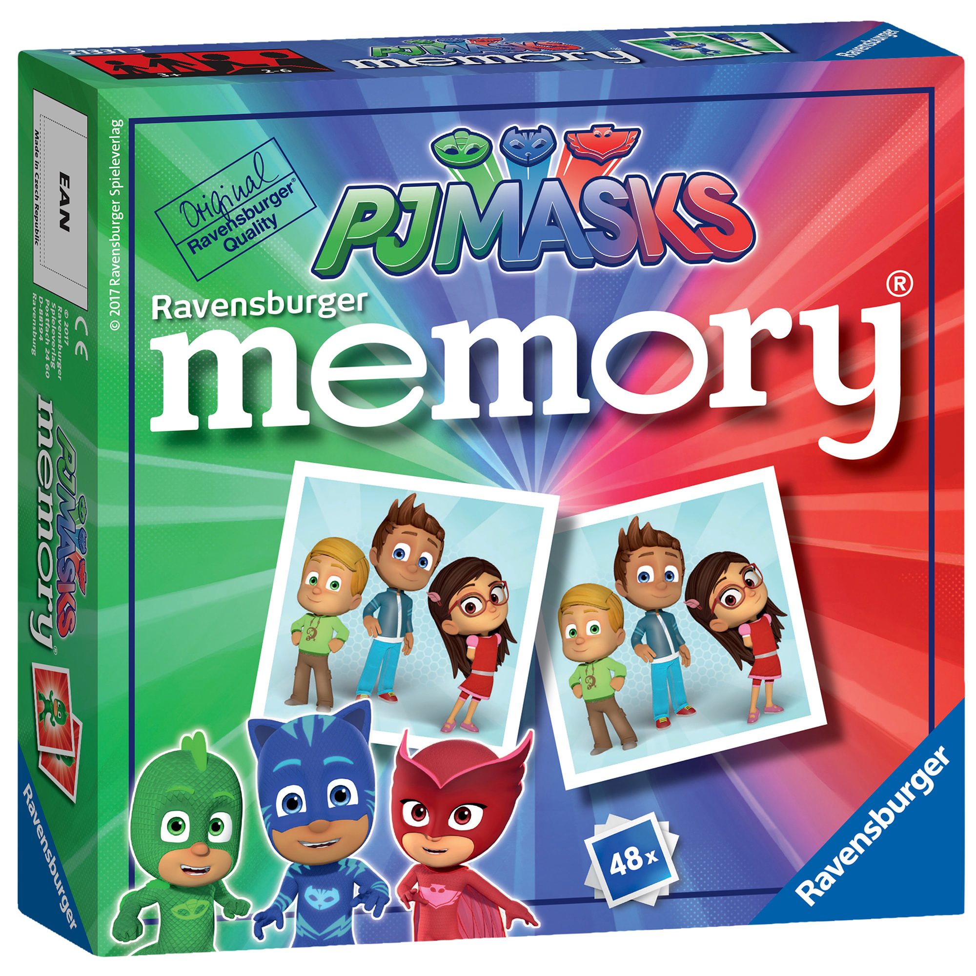 Ravensburger PJ Masks Mini Memory® Game