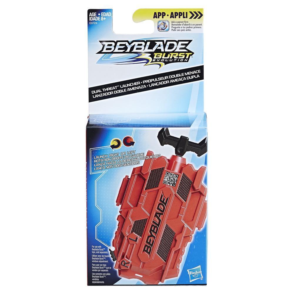 Beyblade Burst Evolution Dual Threat Launcher