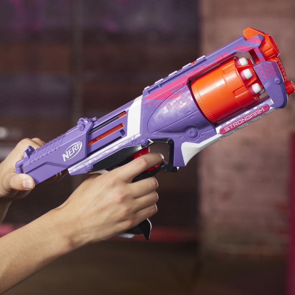 Nerf Elite Strongarm Blaster (Purple)