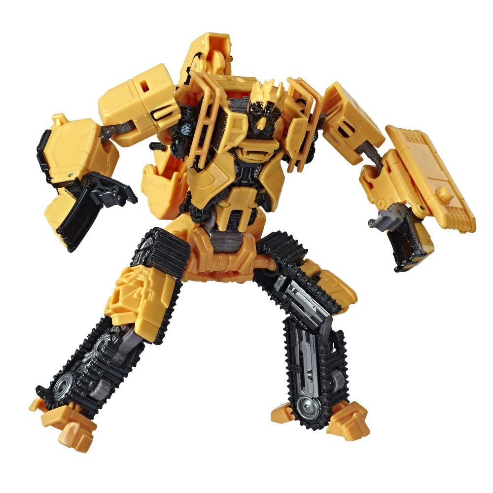 Transformers Toys Studio Series 41 Deluxe Class Transformers: Revenge of the Fallen Movie Constructicon Scrapmetal Action Figure - Ages 8 and Up, 4.5-inch