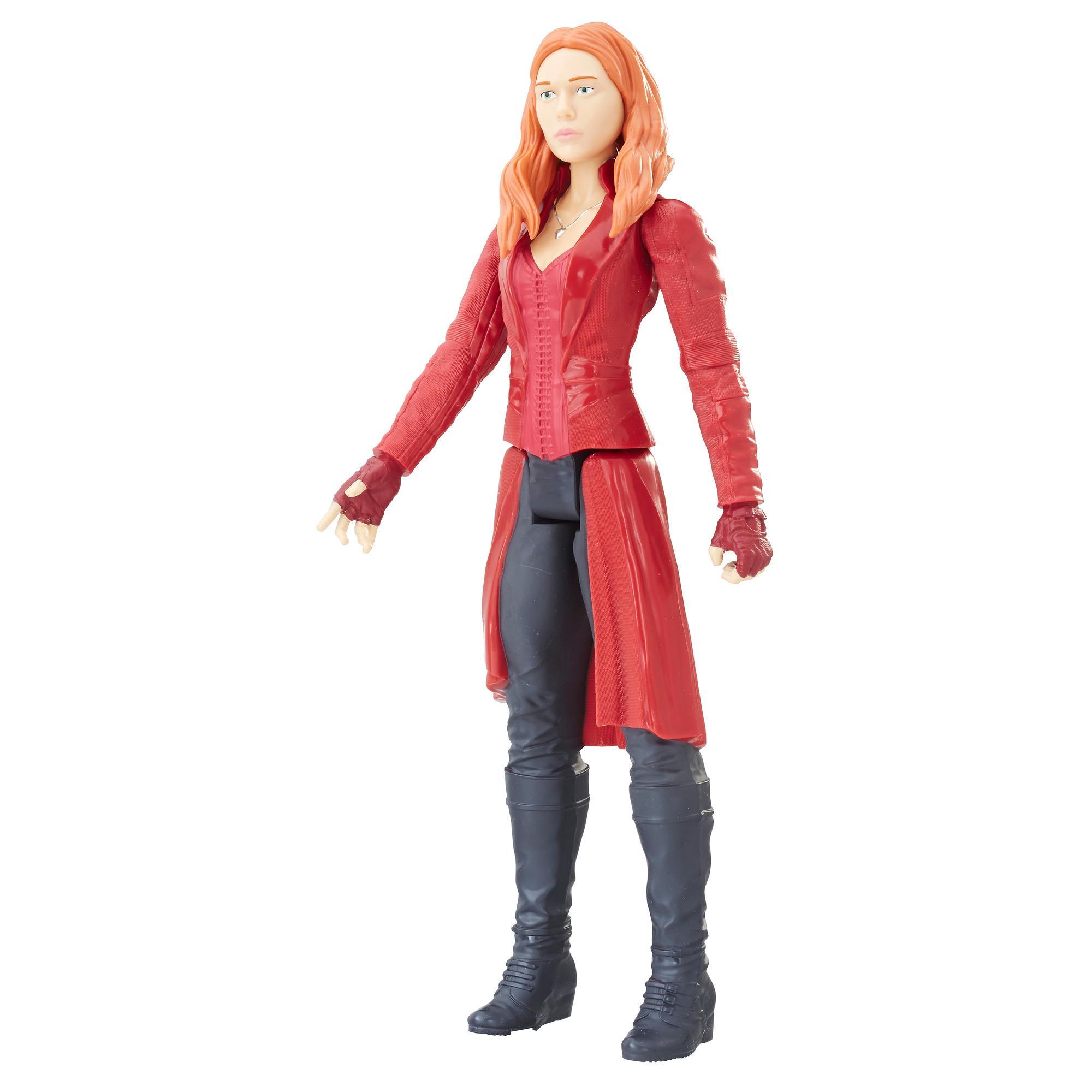 Marvel Infinity War Titan Hero Series Scarlet Witch with Titan Hero Power FX Port