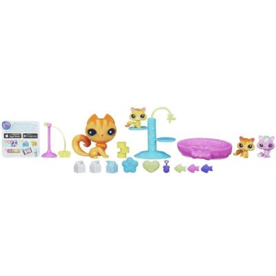 Littlest Pet Shop Magic Motion Baby Kitty Playtime Set