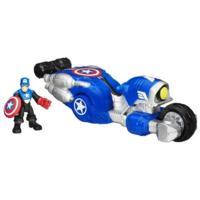 Playskool Heroes Marvel Super Hero Adventures Shield Bike With Captain America