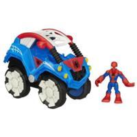 Playskool Heroes Marvel Super Hero Adventures Flip Out Stunt Buggy With Spider-Man