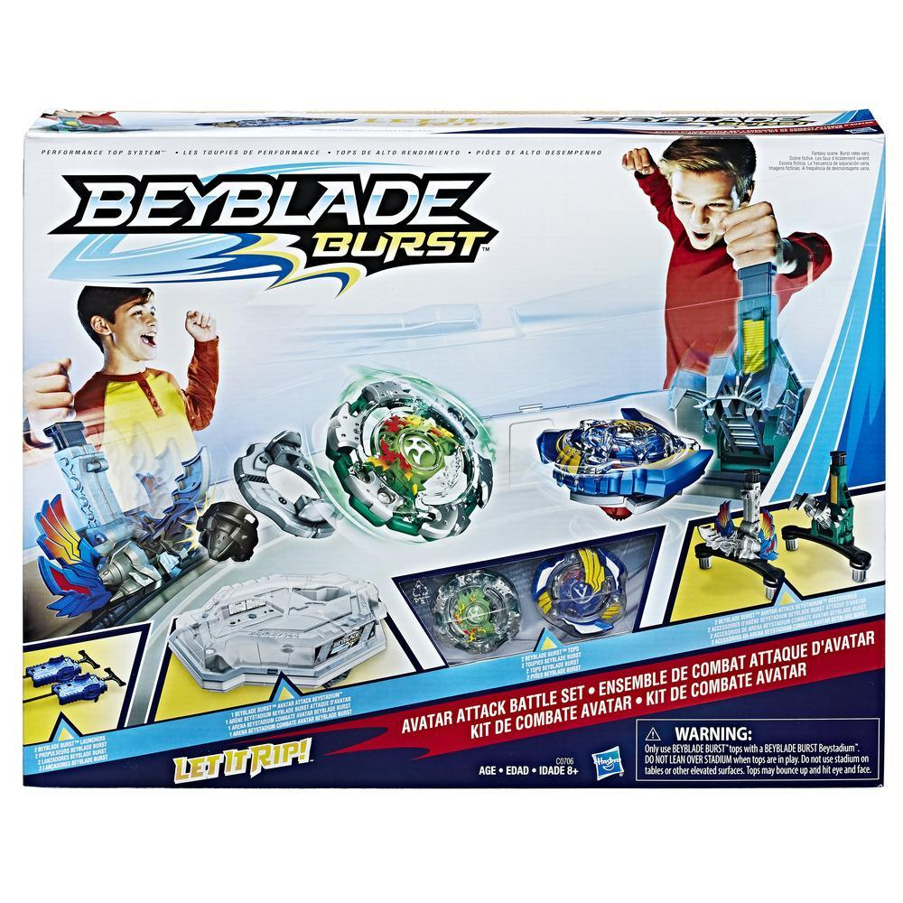 Beyblade Burst Avatar Attack Battle Set
