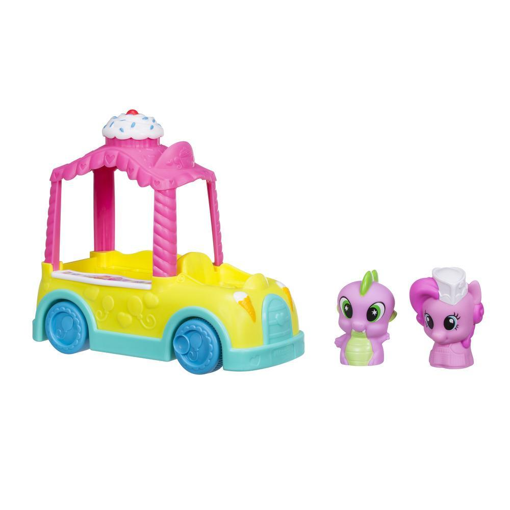 Playskool Friends My Little Pony Pinkie Pie Roll 'n Ring Cupcake Truck