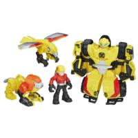 Playskool Heroes Transformers Rescue Bots Bumblebee Rock Rescue Team