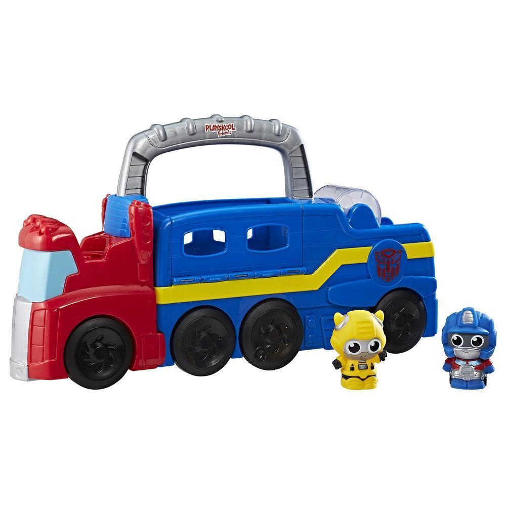Playskool Friends Transformers Peek-a-bot Rollin' Rig