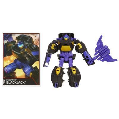 Transformers Generations Combiner Wars Legends Class Decepticon Blackjack Figure