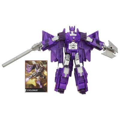 Transformers Generations Combiner Wars Voyager Class Cyclonus Figure