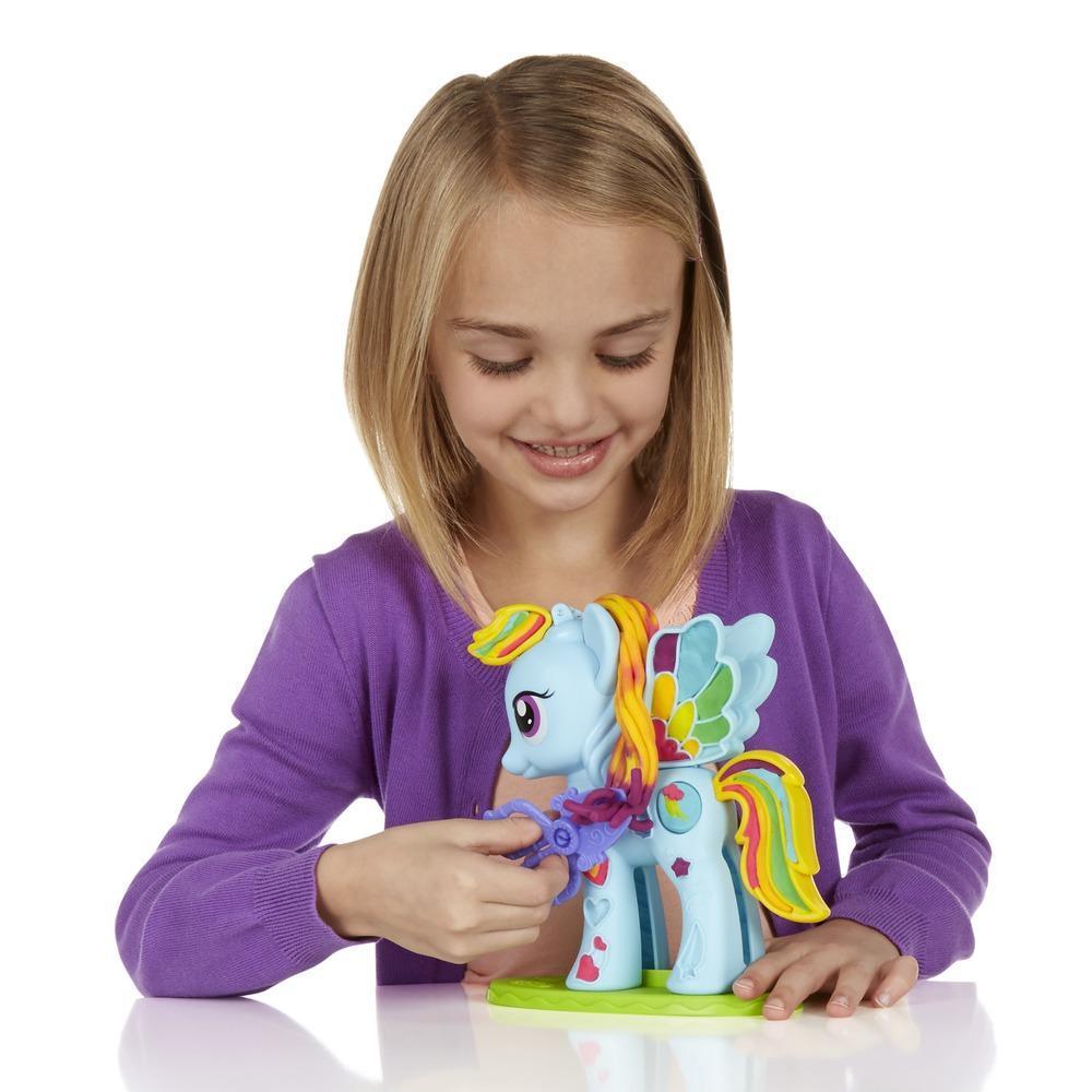 Play-Doh Rainbow Dash Style Salon Featuring My Little Pony