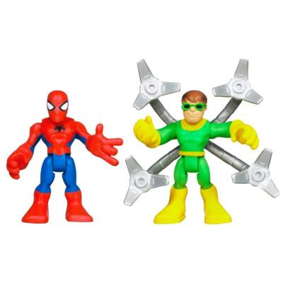 PLAYSKOOL HEROES MARVEL SPIDER-MAN ADVENTURE Spider-Man and Doc Ock Figure 2 Pack