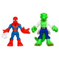 PLAYSKOOL HEROES MARVEL SPIDER-MAN ADVENTURES Spider-Man and and Lizard Figure 2 Pack