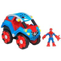 PLAYSKOOL HEROES MARVEL SPIDER-MAN ADVENTURES Flip-Out Stunt Buggy with Spider-Man