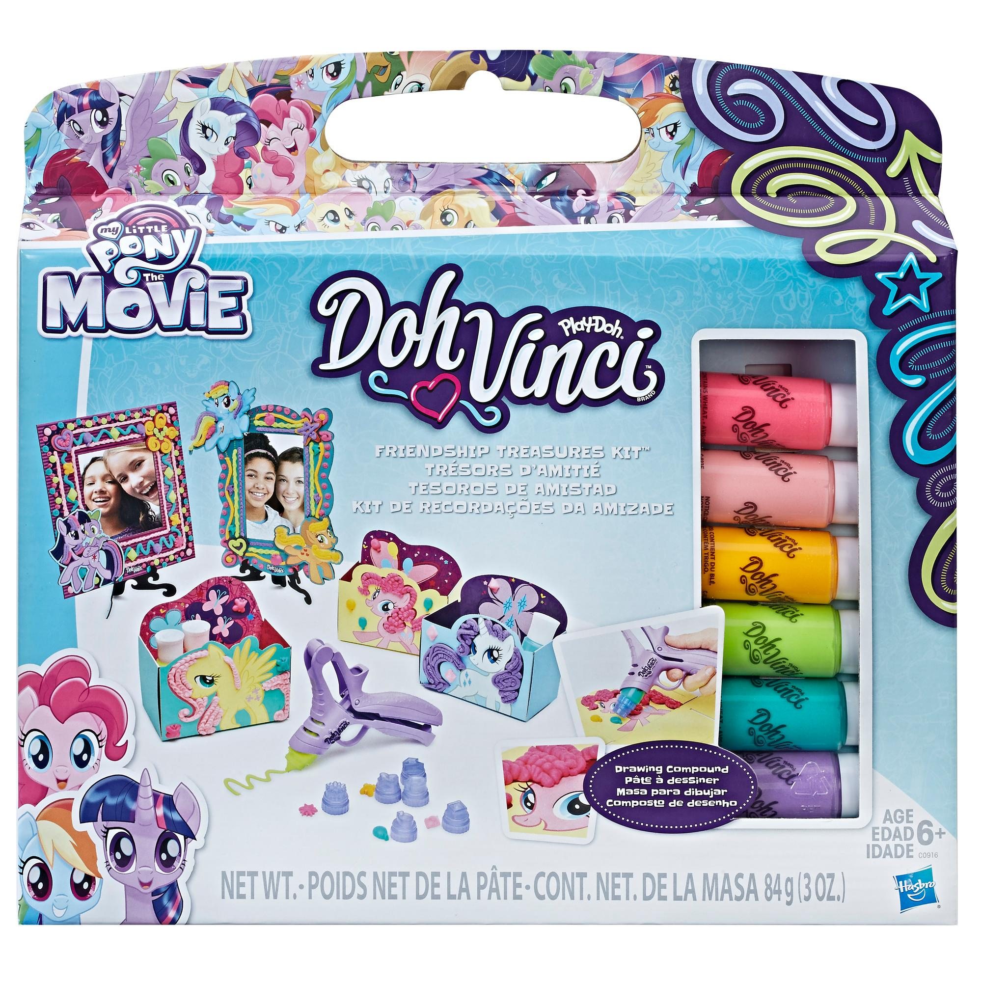 DohVinci My Little Pony Friendship Treasures Kit