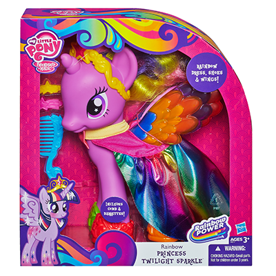 My Little Pony Cutie Mark Magic Rainbow Princess Twilight Sparkle Figure
