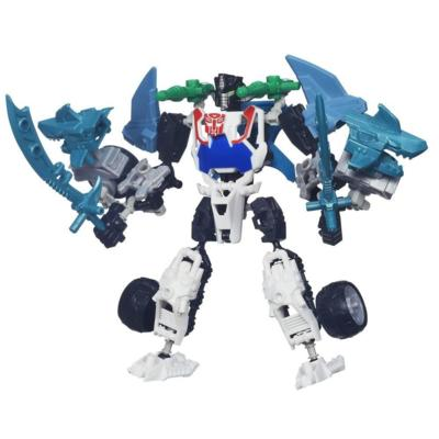 Transformers Construct-Bots Scout Class Arsenal Packs Wheeljack Buildable Action Figure