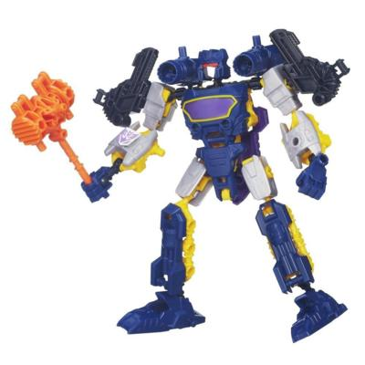 Transformers Construct-Bots Scout Class Arsenal Packs Soundwave Buildable Action Figure