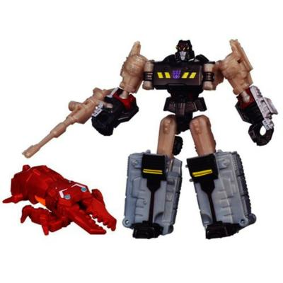 Transformers Generations Legends Class Megatron and Chop Shop Figures