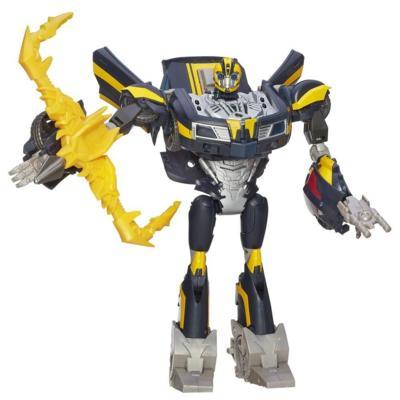 Transformers Prime Beast Hunters Battlemaster Class Talking Bumblebee Figure
