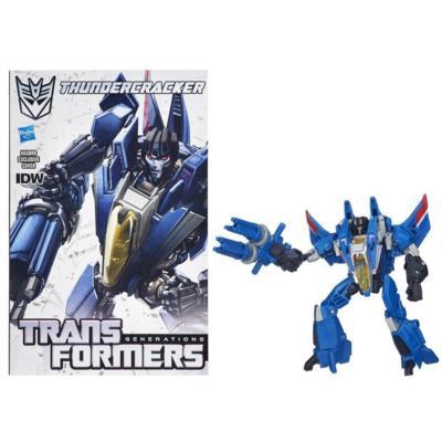 Transformers Generations Deluxe Class Thundercracker Figure