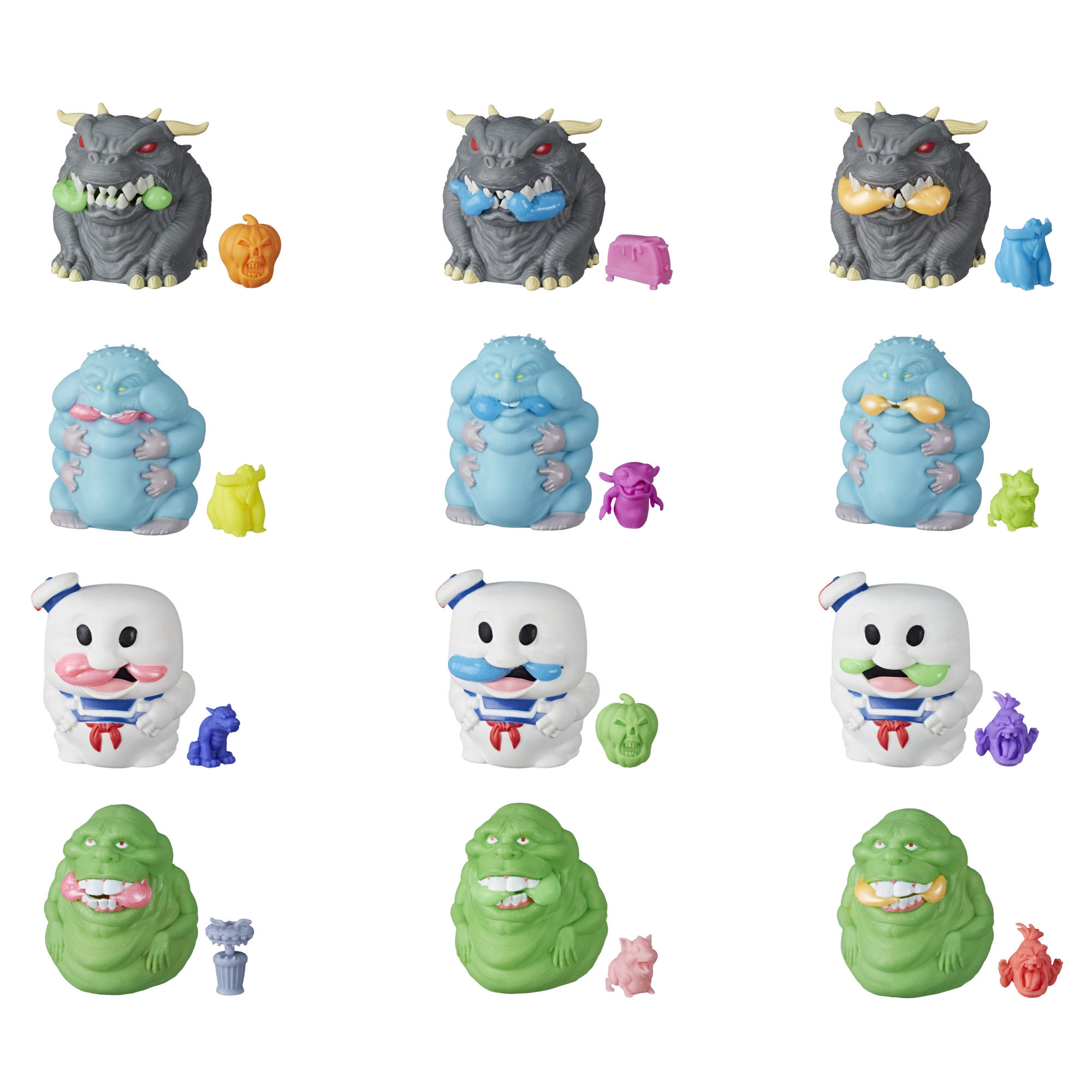 Ghostbusters Ecto-Plasm Ghost Gushers Squeezable Figures with Ecto-Plasm and Mystery Mini Figures Inside
