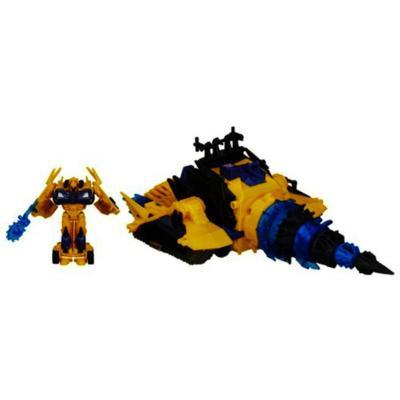 Transformers Prime Beast Hunters Energon Driller Vehicle with Bumblebee Figure