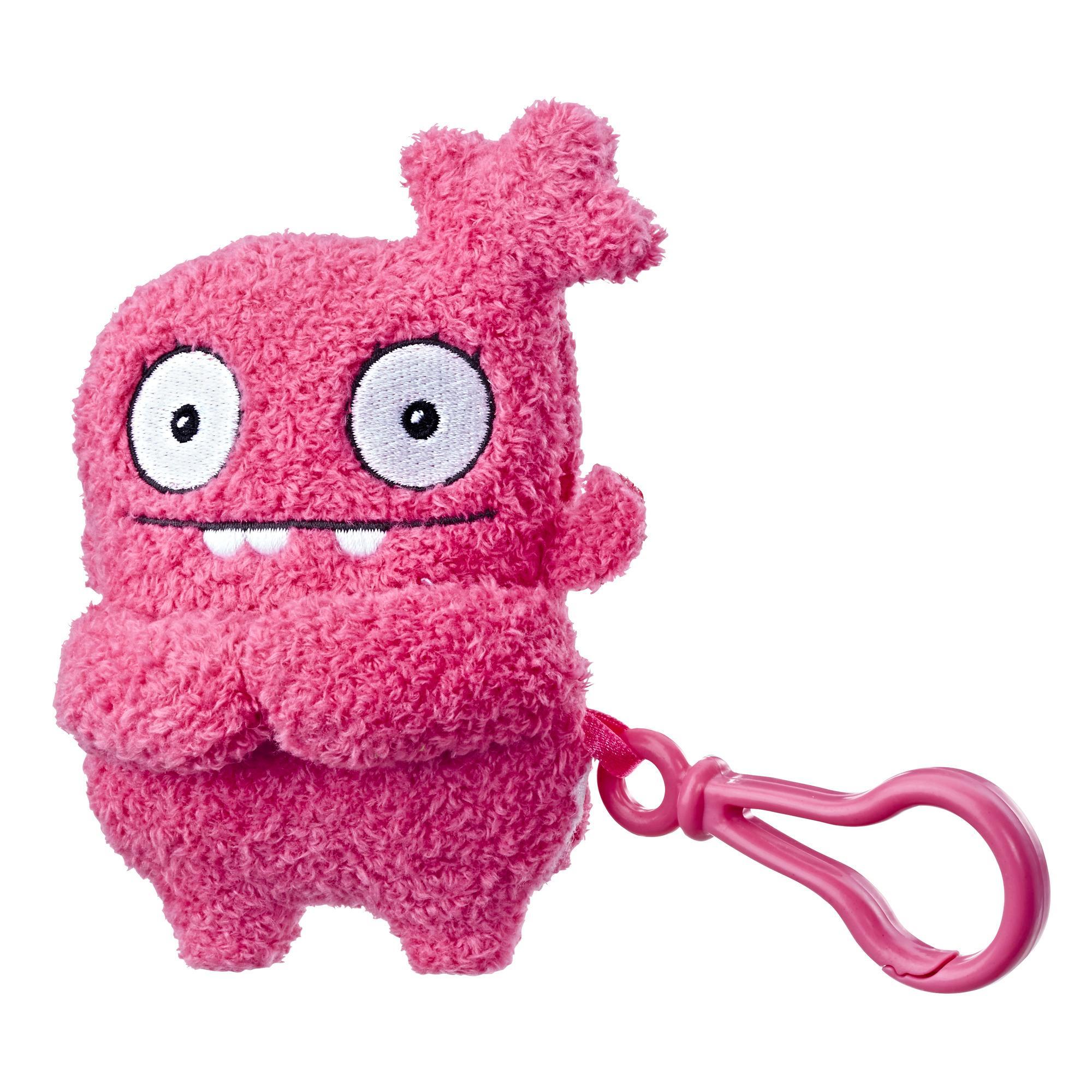 UglyDolls Moxy To-Go Stuffed Plush Toy, 5.5 inches tall