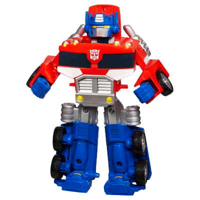TRANSFORMERS RESCUE BOTS PLAYSKOOL HEROES OPTIMUS PRIME
