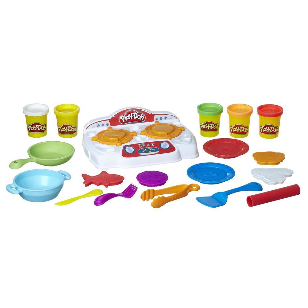 Play-Doh|Play-Doh Kitchen Creations Sizzlin\' Stovetop