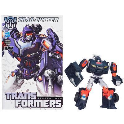 Transformers Generations Deluxe Class Trailcutter Figure