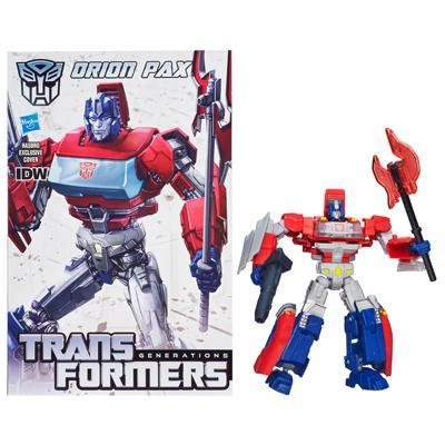 Transformers Generations Deluxe Class Orion Pax Figure