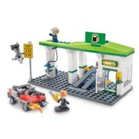 Kre-O CityVille Invasion Service Station Scare Construction Set