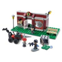 Kre-O CityVille Invasion Bank Bandit Bust Construction Set