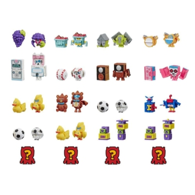 Transformers BotBots Series 3 Playroom Posse 5-Pack Mystery 2-In-1 Figures Product