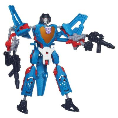 Transformers Construct-Bots Scout Class Thundercracker Buildable Action Figure