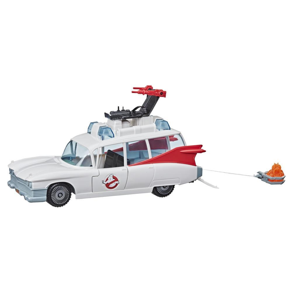Ghostbusters Kenner Classics The Real Ghostbusters Ecto-1 Retro Vehicle with Accessories, Toys for Kids Ages 4 and Up