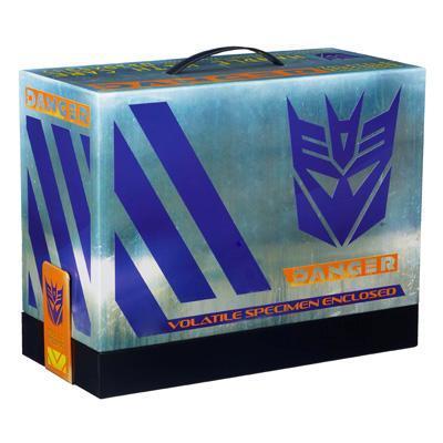Transformers Prime Shockwave's Lab San Diego Comic Con Figures