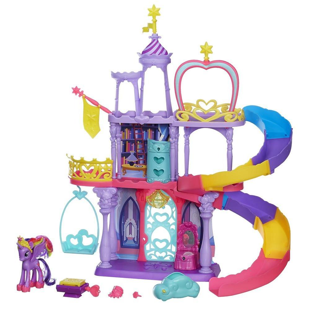 My little pony friendship is magic coloring pages hasbro - My Little Pony Friendship Rainbow Kingdom Playset