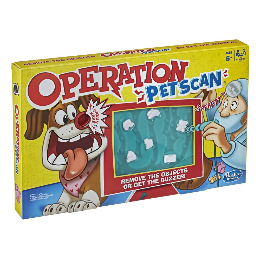 Operation Pet Scan Board Game for Kids Ages 6 and Up