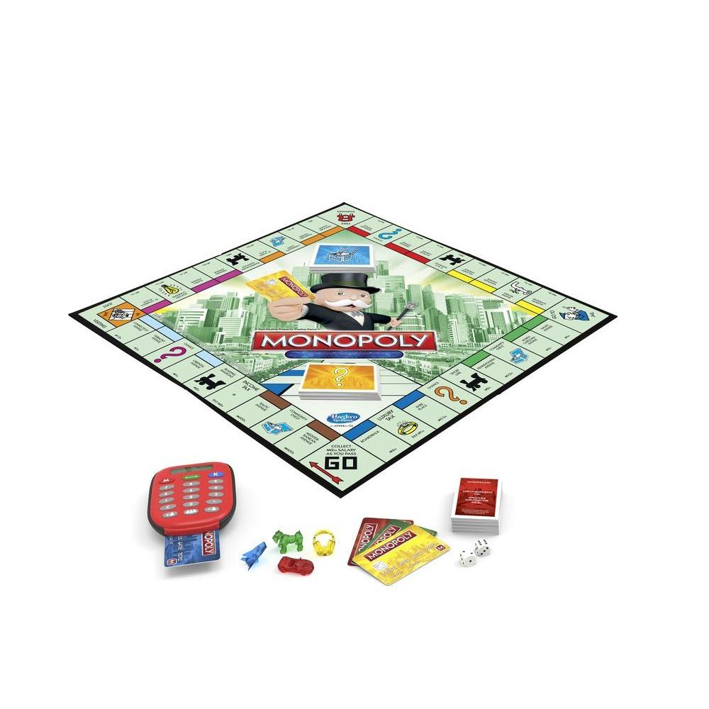 Monopoly electronic banking game previous