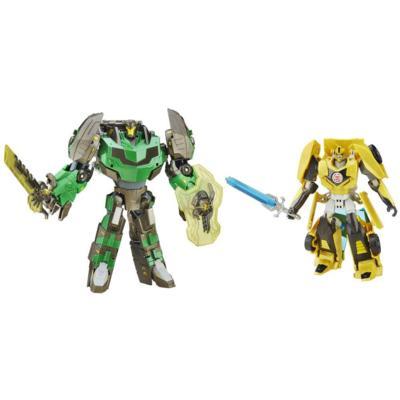 Transformers Generations Platinum Edition Bumblebee and Grimlock