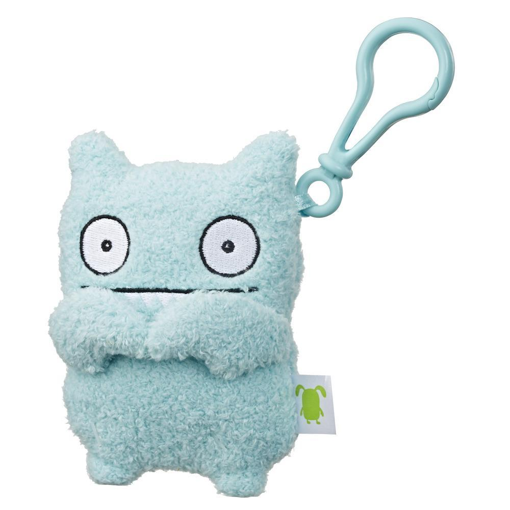 UglyDolls Ice-Bat To-Go Stuffed Plush Toy with Clip, 5 inches tall