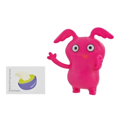 UglyDolls Lotsa Ugly Mini Figures Series 2, Doll and 4 Accessories Inspired by UglyDolls Movie