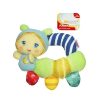 PLAYSKOOL - GLOWORM  - Soft Clutch Rattle