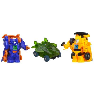 TRANSFORMERS BOT SHOTS Battle Game 3-Pack