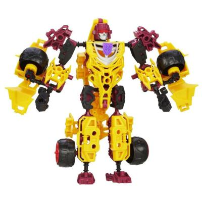 Transformers Construct-Bots Elite Class Decepticon Dragstrip Buildable Action Figure